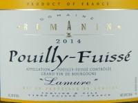 Pouilly-Fuissé Lamure 2014 (Carton de 6)